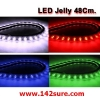 LFC041 LED Jelly Flexibleไฟยางท่อนละ 48cm. ดัดงอได้ ตัดได้-ต่อได้ (กันน้ำ)