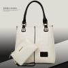 กระเป๋าเกาหลี พร้อมส่ง รหัส SUIF0080WH แบบสวย มีกระเป๋าใบเล็กแถมให้