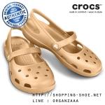 W5 (22.5 cm.) : Crocs Shayna Women - Gold ของแท้ Outlet ไทยและอเมริกา