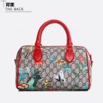 กระเป๋าแฟชั่นพร้อมส่ง รหัส SUIF0231RD หูหิ้วสีแดง ทรงกล่อง ถือและสะพายได้ สวย น่าใช้ค่ะ