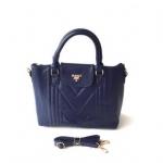 กระเป๋าเกาหลีพร้อมส่ง รหัส SUC0014BL สีน้ำเงิน แบบสะพายข้างผู้หญิง ตั้งได้
