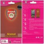 ฟิล์มกันรอย iPhone 5/5s ลายการ์ตูน หน้า+หลัง Arsenal