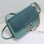 กระเป๋า Axixi พร้อมส่ง รหัส NM12110-2 สีเขียว แต่งโซ่ทอง น่ารักค่ะ