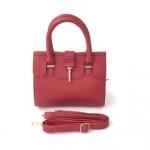 กระเป๋าเกาหลีพร้อมส่ง รหัส SUC0020RD สีแดง แบบสะพายข้างผู้หญิง มีสายสะพายยาวสวยค่ะ
