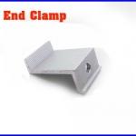 Solar End Clamp 50mm ยึดข้างแผงโซล่าเซลล์สุดท้าย ผลิตจากอลูมิเนียมอัลลอยคุณภาพดี (ไม่รวมน็อต)