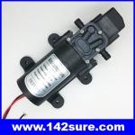 SOP034 ปั้มน้ำโซล่าปั้ม โซล่าปั้มน้ำดีซี แรงดันไฟ24VDC กำลังไฟ60W การส่งน้ำได้50เมตร Micro diaphragm pump 0142YA