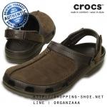 M7 (26 cm) : Crocs Yukon Mesa Clog - Espresso ของแท้ Outlet ไทยและอเมริกา