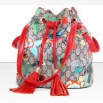 กระเป๋าแฟชั่นพร้อมส่ง รหัส SUIF0232RD สายสะพายสีแดงรูปนกและดอกไม้ น่าใช้มากค่ะ