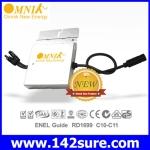 INV014 อินเวอร์เตอร์ โซล่าเซลล์ Solar Inverter Omniksol 300W Micro inverter Omniksol-M300 เทคโนโลยีจากประเทศเยอรมนี)