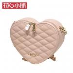 กระเป๋า Axixi พร้อมส่ง รหัส NM12267 สีชมพู รูปหัวใจ สวยมากค่ะ