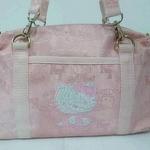 กระเป๋าถือสะพายไหล่ /ถือ  kitty-sanrio   สีชมพู หวานๆ