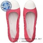 US7 : Fitflop F-Pop Ballerina Canvas Raspberry ของแท้ นำเข้าจาก USA และ UK