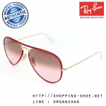 RayBan - RB3025JM 001/3X Aviator Full Color Red Gradient, 58 mm.