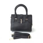 กระเป๋าเกาหลีพร้อมส่ง รหัส SUC0020BK สีดำ แบบสะพายข้างผู้หญิง มีสายสะพายยาวสวยค่ะ