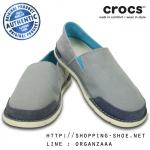 M7 (26 cm.) : Crocs Men's Cabo Loafer - Concrete / Stucco ของแท้ Outlet ไทยและอเมริกา