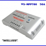 SCC009: โซล่าชาร์จเจอร์ โซล่าร์คอนโทรลเลอร์ โซล่าร์ชาร์ทเจอร์ WS- MPPT60 50A 48V Auto Regulator ยี่ห้อ WELLSEE รุ่น WS-MPPT60 (Pre-order 2 สัปดาห์)