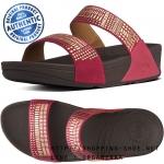 US8 : Fitflop Aztek Chada Slide Rio Pink ของแท้ นำเข้าจาก USA และ UK