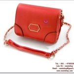 กระเป๋าแฟชั่นพร้อมส่ง รหัส DB-1028 Style LYN หนัง PU นิ่ม