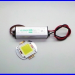 DIY058: ชุดLED DIY High Power 50W 1500mA แสงสีขาว IP65 White 4500LM แบบกันน้ำ