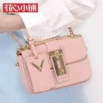 กระเป๋า Axixi พร้อมส่ง รหัส NM12131 สีชมพู มีป้ายห้อย ทรงกล่อง น่ารัก น่าใช้ค่ะ