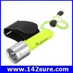 FLZ008 ไฟฉาย LED ความสว่างสูง ไฟฉายใต้น้ำ CREE XM-L LED Waterproof underwater scuba Diving Flashlight