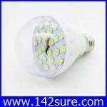 LDL018 หลอดไฟ LED SMD E27-24SMD 5W 12V with cover สีขาว (เทียบเท่าหลอดตะเกียบ18-25วัตต์)40 000 ชั่วโมง ยี่ห้อ epiStar รุ่น