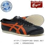 Onitsuka Tiger Mexico 66 - Black / Hawaiian Sunset ของแท้ มีกล่อง ป้ายครบ