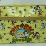 กระเป๋าสะพายเด็ก chip & dele/ดิสนีย์  สีเหลืองผ้าเคลือบพลาสติก