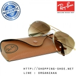 RayBan - RB3025 001/51 Aviator Light Brown Gradient, 58 mm.