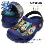 C6/7 (15 cm.) : Creative Crocs Avengers III Clog - Cerulean Blue ของแท้ Outlet ไทยและอเมริกา