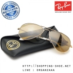 RayBan - RB3025 001/3K Aviator Brown Gold Lens, 58 mm.