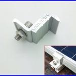 solar End clamp slide adjustable 35-50mm ยึดข้างแผงโซล่าเซลล์ อุปกรณ์ติดตั้งแผงโซล่าเซลล์ ผลิตจากอลูมิเนียมอัลลอยคุณภาพดี