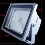 LFL016 โคมไฟLED Flood Light 50W LED 3 600-4 000 Lumen Warm White สีขาวอมเหลือง Flood/Area/Landscape/Grow Light Outdoor/Indoor (Chip from Taiwan) ยี่ห้อ OEM รุ่น 50W
