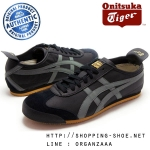 Onitsuka Tiger Mexico 66 - Black / Grey / Gold ของแท้ มีกล่อง ป้ายครบ