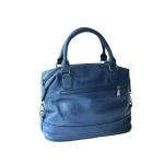 กระเป๋าเกาหลี พร้อมส่ง รหัส SUC0016BL สีน้ำเงิน แบบถือและสะพายข้างผู้หญิง น่าใช้ค่ะ