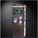 เครื่องบันทึกเสียง หน่วยความจำขนาด4GB Dictaphone TEL Voice Recorder MP3 VOX,High Quality