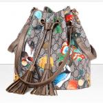กระเป๋าแฟชั่นพร้อมส่ง รหัส SUIF0232GD สายสะพายสีทอง รูปนกและดอกไม้ น่าใช้มากค่ะ
