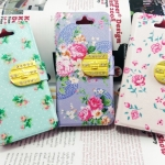 Case iPhone 5/5s Flip Case หนัง ลายดอกไม้