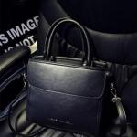 กระเป๋าสะพายข้างผู้หญิงพร้อมส่ง รหัส SUIF0227BK สีดำ ทรงกล่อง แบบสวย