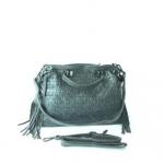 กระเป๋าสะพายข้างผู้หญิง รหัส SUC0017GY สีเทา แต่งลายถัก น่ารักค่ะ