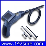 END002 กล้องตรวจสอบงาน กล้องเอ็นโดสโคป พร้อมจอ 2.4″ LCD Inspection Tube Camera Borescope Endoscope Scope(สินค้าPre-Order 2สัปดาห์)