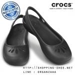 W5 (22.5 cm.) : Crocs Thea Flat - Black ของแท้ Outlet ไทยและอเมริกา