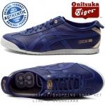 Onitsuka Tiger Mexico 66 Limited Edition - Premium Dark Blue / Dark Blue ของแท้ มีกล่อง ป้ายครบ