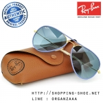 RayBan - RB3025JM 001/4M Aviator Full Color Blue Gradient, 58 mm.