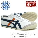 Onitsuka Tiger Mexico 66 - White / Teal Forest ของแท้ มีกล่อง ป้ายครบ