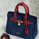 กระเป๋าถือและสะพายข้างผู้หญิงพร้อมส่ง รหัส SUB0022RD หูหิ้วสีแดง สวยค่ะ
