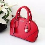 กระเป๋าแฟชั่น Berry bag พร้อมส่ง รหัส SUB0013RD สีแดง แต่งแม่กุญแจหน้ากระเป๋าสวยค่ะ