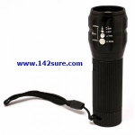 FLZ001 ไฟฉายซูม LED ความสว่างสูง Adjustable Zoom Focus LED Flashlight ยี่ห้อ OEM รุ่น FLZ001