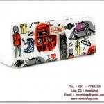 กระเป๋าสตางค์พร้อมส่ง รหัส CK-002-6 ลายกราฟฟิค อังกฤษ น่ารักค่ะ