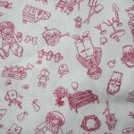ผ้าฝ้ายไทย ขนาด 1 เมตร เป็นผ้าฝ้ายผ้าคาเนโบ เนื้อบาง ราคาประหยัด